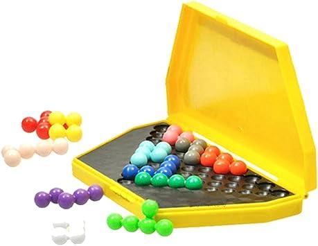 Georgie Porgy Juegos de Mesa Puzzler Juegos Ingenio Juegos de Logica para Niños Adultos (IQ Puzzle Beads) Niños: Amazon.es: Juguetes y juegos