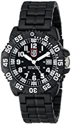 Luminox Men's 3052 Colormark Navy Seal Black Resin Watch