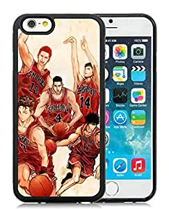 Personality customization Customized SLAM DUNK 9 iPhone 6 4.7 Inch Black Case At J-15 Cases