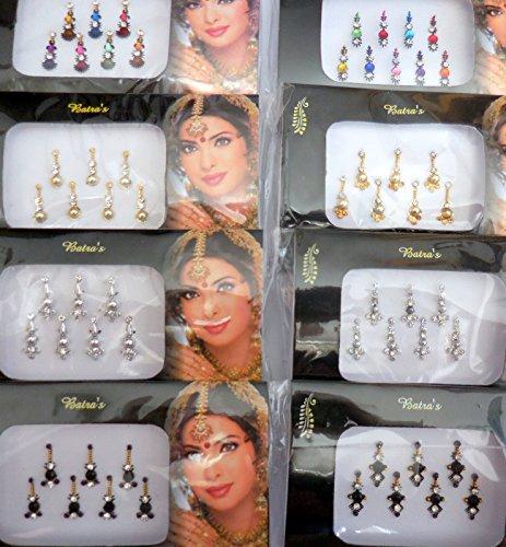 8-bindi-pack-56-bindis-silver-goldenblackmulticolored-bindi-jewelry-face-jewels-bindi-crystal