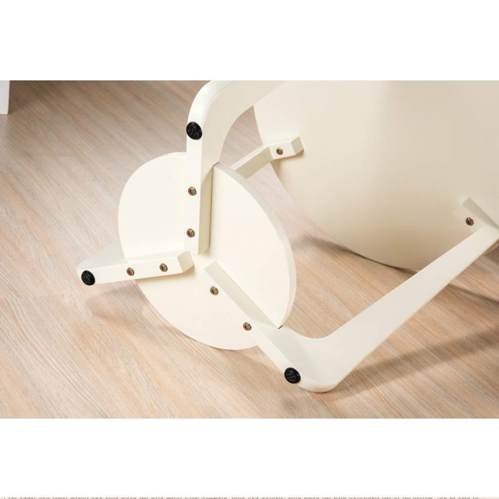Amazon.com: GZLL - Mesa auxiliar de madera de 2 niveles con ...