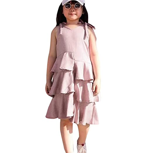 cfe5474a5cab Amazon.com  S.H.EEE Toddler Baby Girls Sleeveless Plaid Print ...