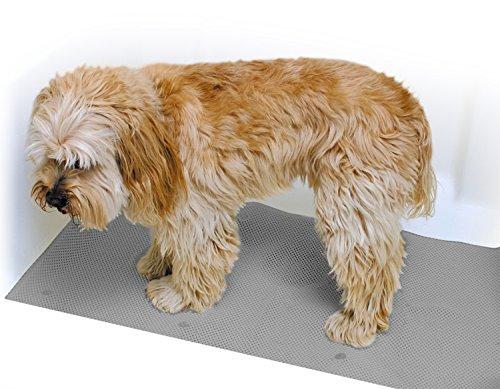 Rinse Ace Pet Bathing Mat, Tub & Shower 17' x (Pet Bathing Mat)