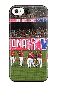 New DvPtcXq217jyGFN Washington Nationals Tpu Cover Case For Iphone 4/4s
