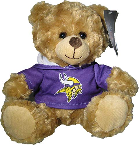 (The Good Stuff NFL Minesota Vikings Hoodie Bear)