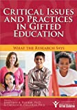 img - for Critical Issues and Practices in Gifted Education: What the Research Says by Jonathan Plucker Ph.D. (2007-11-15) book / textbook / text book