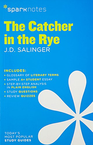 analysis of catcher in the rye holden caulfield hubpages the catcher in the rye sparknotes literature guide sparknotes literature guide series