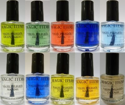 Magic Items 10 x nagelöl Aroma de 15 ml uñas cuidado Nail: Amazon.es: Belleza