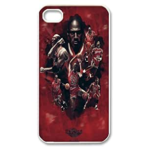 Custom High Quality WUCHAOGUI Phone case Super Star Michael Jordan Protective Case For Iphone 4 4S case cover - Case-10