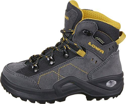 Lowa Kody III GTX Mid Junior - Scarponcino da trekking da bambino anthrazit/gelb