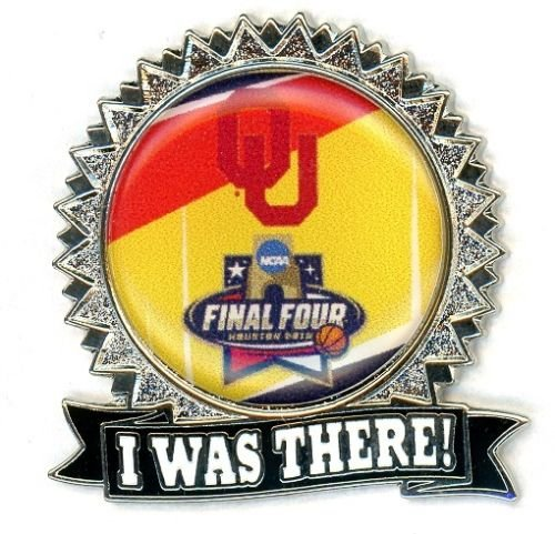 Oklahoma Sooners Lapel Pin I Was There Final Four Design NCAA Licensed - Oklahoma Sooners Lapel Pins