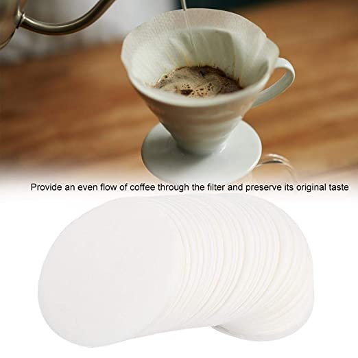Wolfgo Filtro de café de papel-350pcs Ronda de café de Filtro de ...