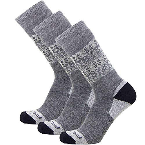 - Kids Alpaca Ski Socks - Warm Wool Ski Sock for Boys and Girls - Skiing, Snowboarding