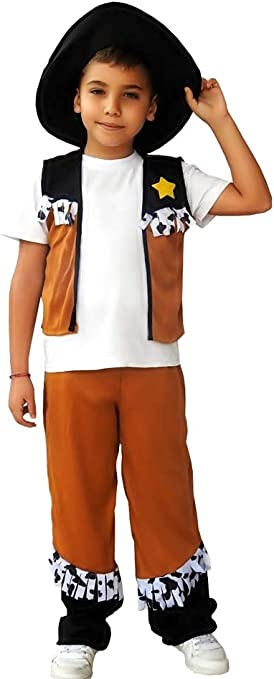Disfraz de vaquero - niño - disfraces infantiles - halloween ...