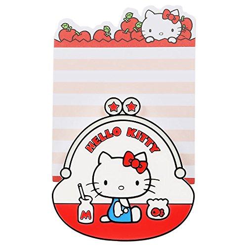 Hello Kitty Mini Memo Pad & Clip: Coin -