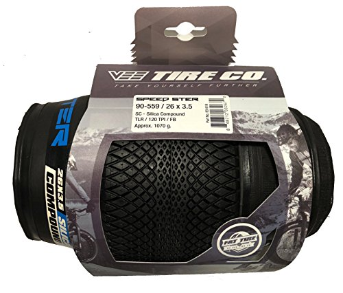 2 Vee Tire 26x3.5 Speedster Pair of Fat Tires Folding Bead Silica Compound by Vee - (Image #2)