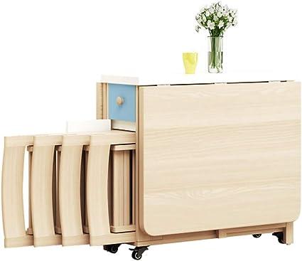 MIMI KING Muebles de Cocina para el hogar Juego de Mesa de ...