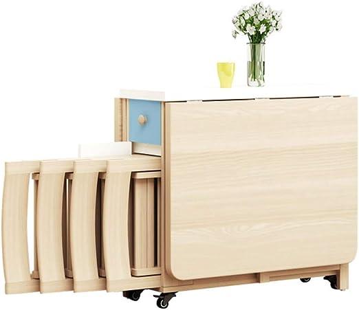MIMI KING Muebles de Cocina para el hogar Juego de Mesa de Comedor ...