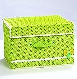 TtKj Clothing Storage Box dust-Proof Folding Storage Box