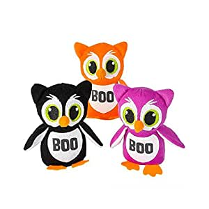 "5.25"" Halloween Owls (Sticky Notes Included)"