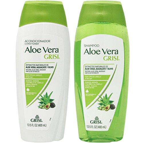 Aloe Vera Shampoo Conditioner Combo by Grisi.. Deep Repair,