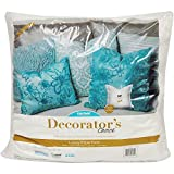 Fairfield DCP24 Decorator's Choice Luxury Pillow Form, 24'' x 24'', White