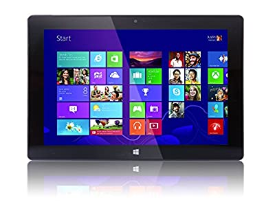 "10"" Windows 10 Fusion5 Ultra Slim Windows Tablet PC- (4GB RAM, 64GB Storage, FWIN232+ Model, Full Size USB 3.0, Intel Quad-core, 5MP and 2MP Dual Cameras, Bluetooth, October 2018 Model,Windows 10 HOM"