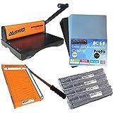 Kit Encadernadora PMX-15 Furo Quadrado + Guilhotina + Insumos