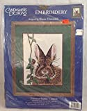 Candamar Designs COTTONTAIL RABBIT by Shane Dimmick Embroidery Kit 80319