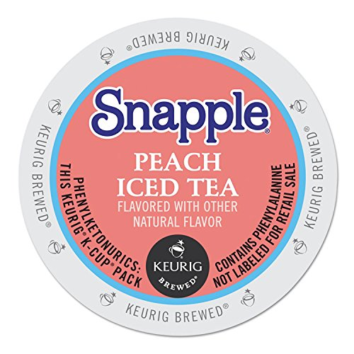 Snapple Peach Tea K-cups, 22-count by Snapple