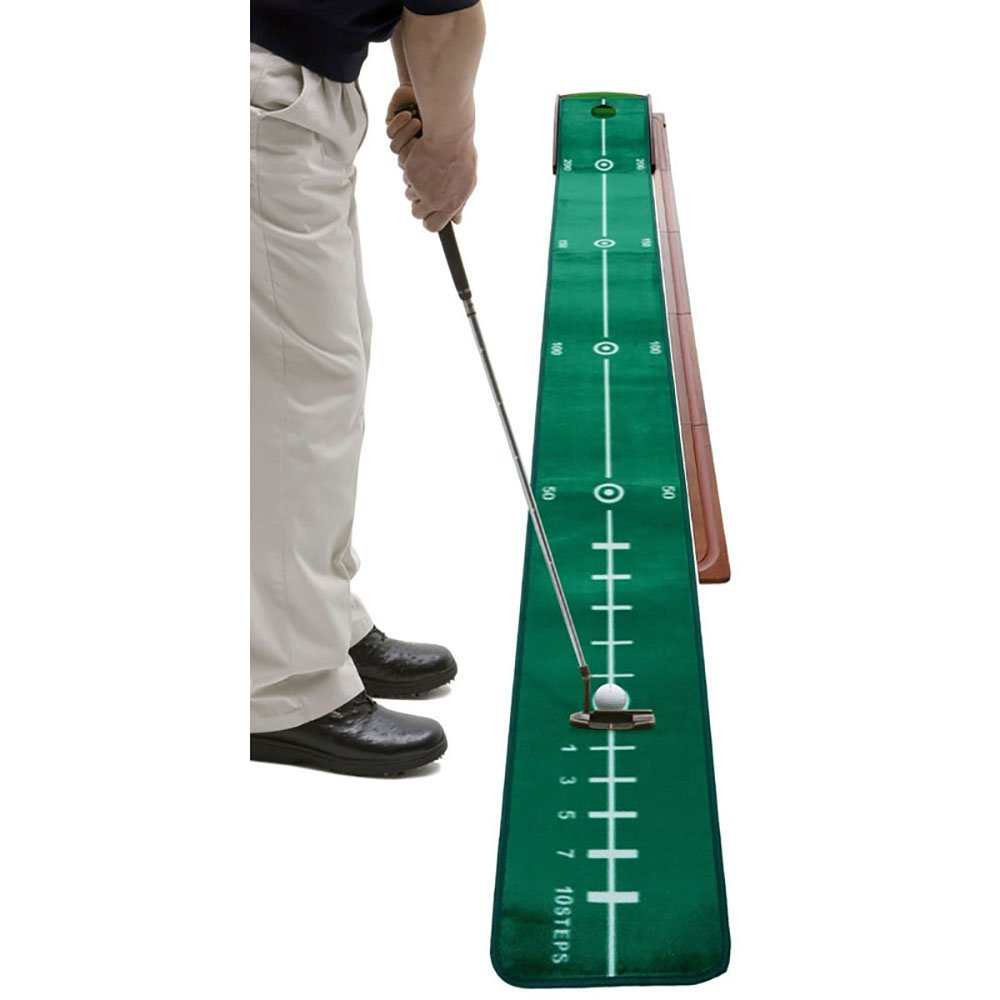 ZB オフィスゴルフパタープラクティスインドアゴルフマットパットプラクティスブランケットスエード30 * 300cm A+   B07JKQ7N7N