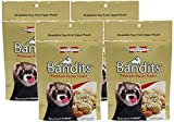 Marshall Bandits Ferret Treat, 3-Ounce, Peanut Butter (Pack of 4)