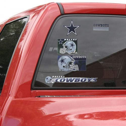 - WinCraft NFL Dallas Cowboys Ultra Decal Sheet, 11