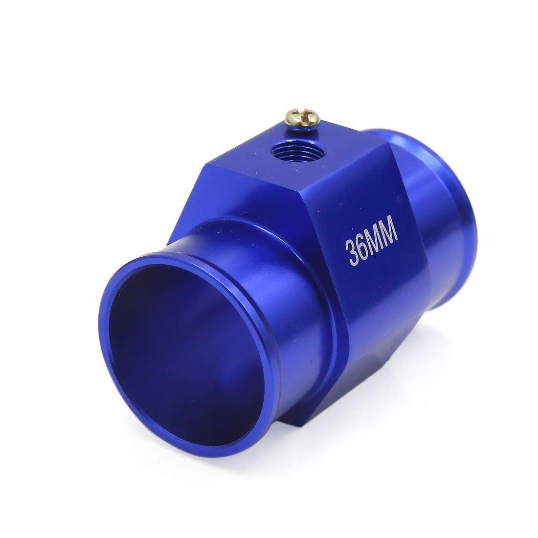 sourcing map 36mm Temperatura Acqua tubazione Comune indicatore sensore Tubo Flessibile radiatore Adattatore per Auto
