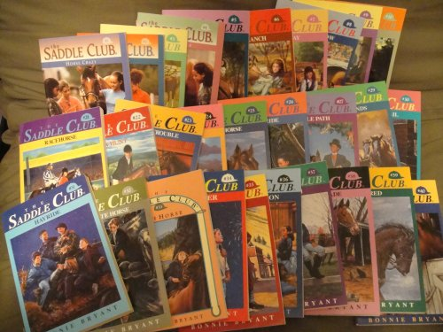 The Saddle Club Set Books: 29 books 1-10+21-40, used for sale  Delivered anywhere in USA
