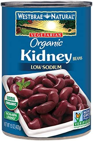 Beans: Westbrae Natural Organic Kidney Beans