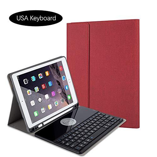 【通販 人気】 Happon iPad Pro 10.5インチ ケース 2017 キーボード ケース キーボード スリム 軽量 Pro スタンドカバー 磁気で取り外し可能 ワイヤレス キーボード iPad Pro 10.5インチ 2017に対応 レッド 00T0-3X-419 レッド B07KWQ1YGW, BEES HIGH:dedae7d9 --- a0267596.xsph.ru