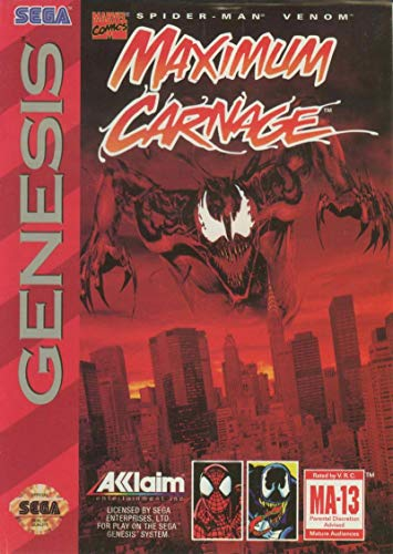 Spider-Man / Venom: Maximum - Game Cartridge Man Spider