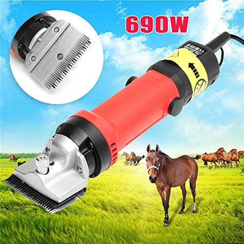 LMM01 1 PC 690W US/AU Plug 110V/230V Electric Hair Clipper Cutter Horse Farm Pet Professional Shearing Electric Machine for Dogs Cut Hairs ()