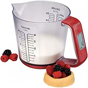 Taylor Digital Measuring Cup Scale - 1 liter