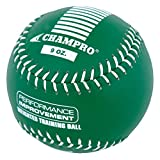 Champro Training Softball, Package (Green, 12-Inch/9-Ounce), KELLY GREEN