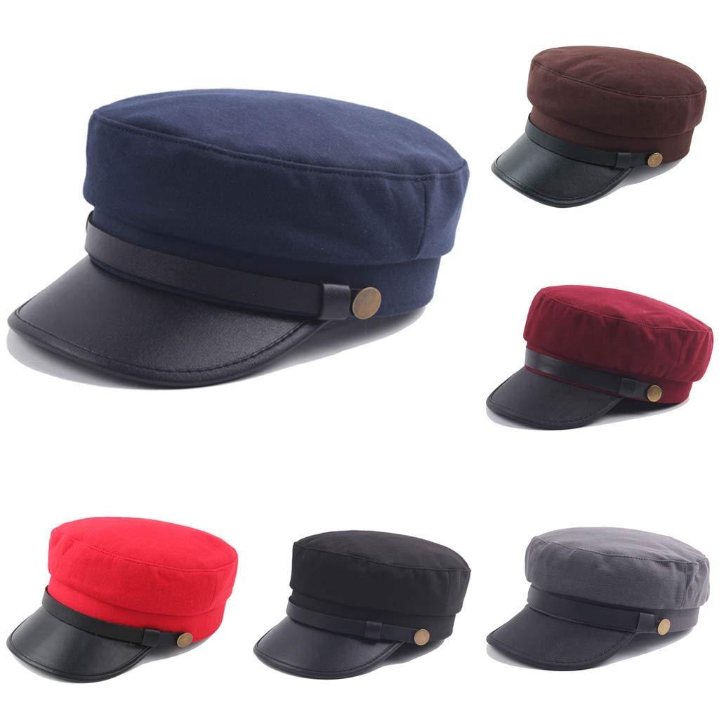 Newsboy Hats for Women,Retro Cotton Vintage Belt Wide Brims Newsboy Hat