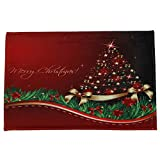 JPJ(TM) New ❤Home Carpets❤1Pcs Hot Fashion Merry Christmas Welcome Doormats Indoor Home Carpets Decor 60x90CM (B)