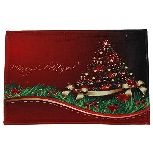 JPJ(TM) New ❤Home Carpets❤1Pcs Hot Fashion Merry Christmas Welcome Doormats Indoor Home Carpets Decor 60x90CM (B) by JPJ(TM) _Christmas products
