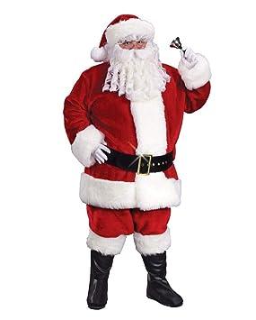Santa Claus traje de lujo: Amazon.es: Juguetes y juegos