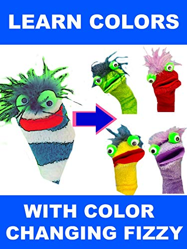 (Learn Colors with Color Changing Fizzy - Fizzy Toy Show)