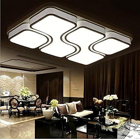 XMZ Iluminación de techo LED Luz Lámpara de techo para sala ...