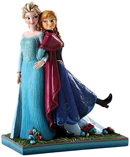 - Jim Shore for Enesco Frozen Figurines by Jim Shore Anna and Elsa
