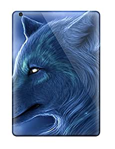 New Ipad Air Case Cover Casing(arctic Wolf )