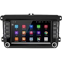 Podofo Radio 2 DIN Android para VW Passat Seat Golf Skoda TOURAN 7 Pulgadas HD Pantalla táctil Navegador GPS Unidad…